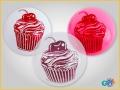 Bola Cupcake cereja 2