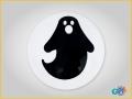 Bola Halloween Fantasma