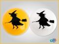 Bola Halloween Bruxa