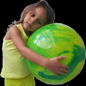 bola praia gigante para crianças