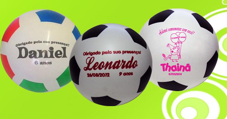 Bolas personalizadas para aniversários  830f0758b1fca